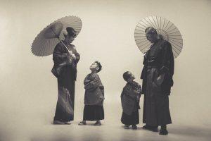 七五三 写真 家族 和装 徳島