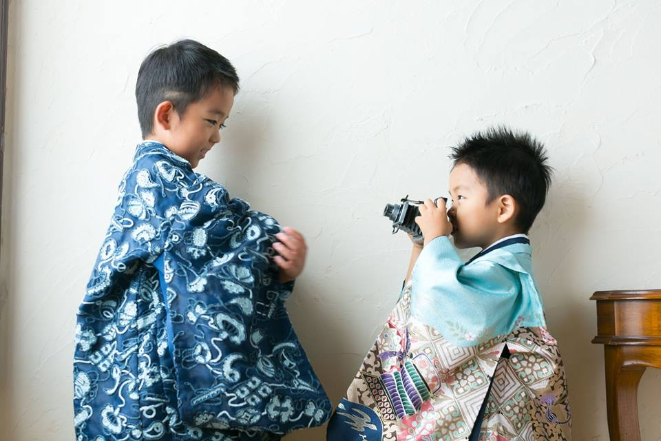 七五三 写真 着物 和装 徳島