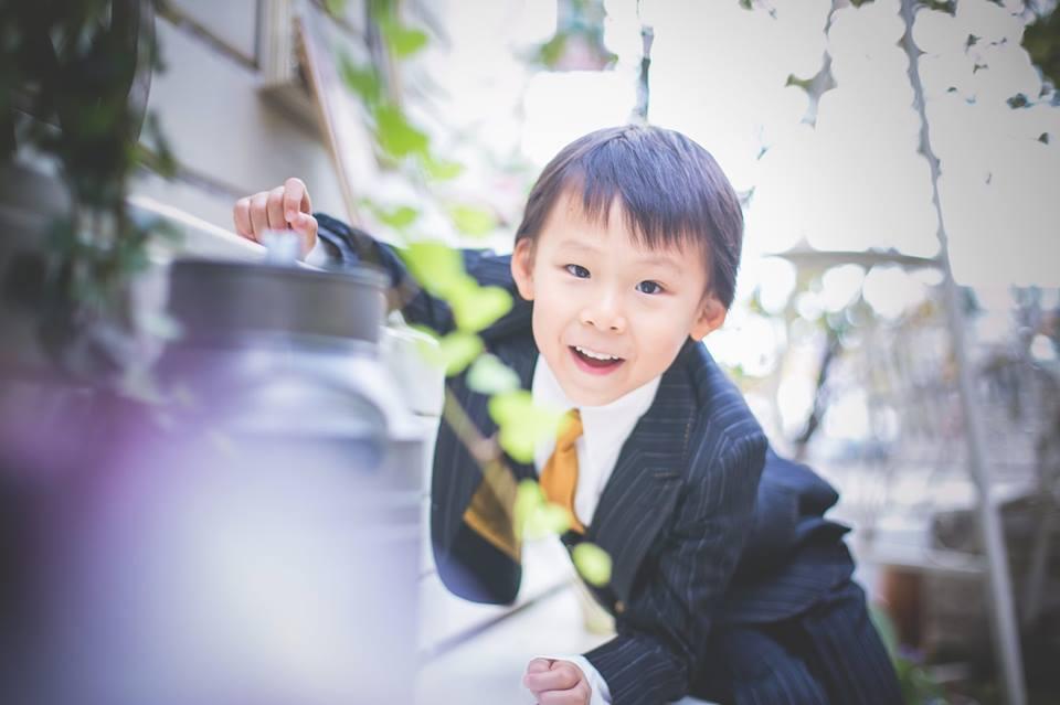 七五三 写真 スーツ 洋装 徳島