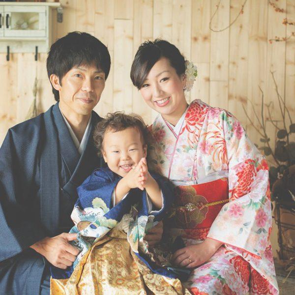 七五三写真でカジュアルな家族写真がトレンド!
